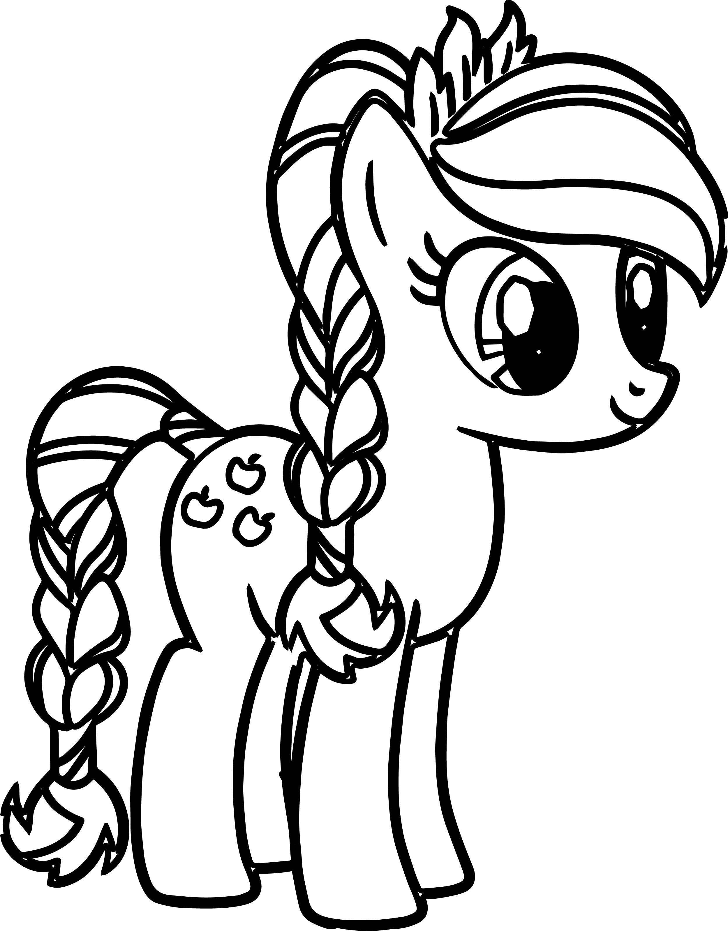 Little Pony Printable Coloring Pages