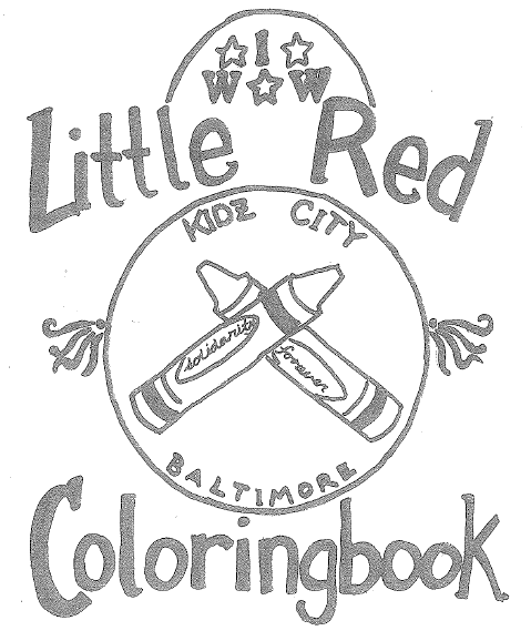 479x578 Little Red Colouring Book