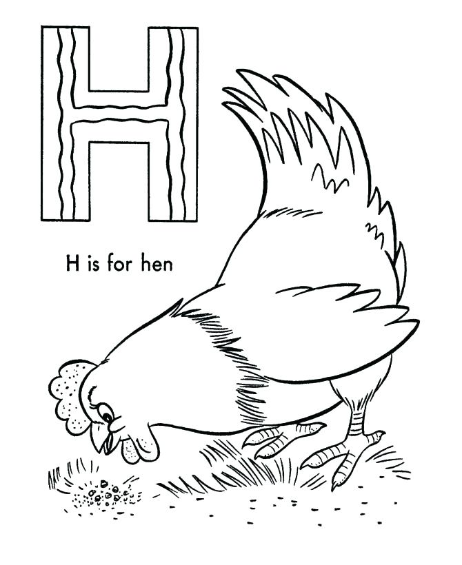 670x820 Red Hen Coloring Pages Kids Coloring The Little Red Hen Coloring