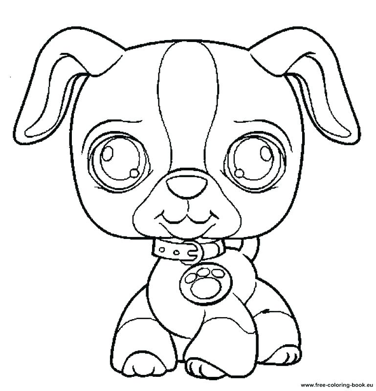 Littlest Pet Shop Cat Coloring Pages