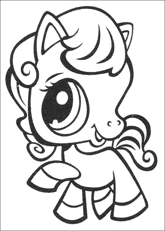 567x794 Littlest Pet Shop Coloring Page Kids N Fun Coloring Pages