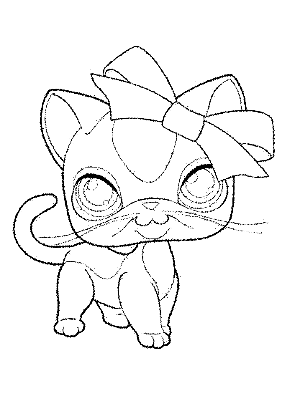 1000x1379 Littlest Pet Shop Coloring Pages Shops Page For My Kids Lps