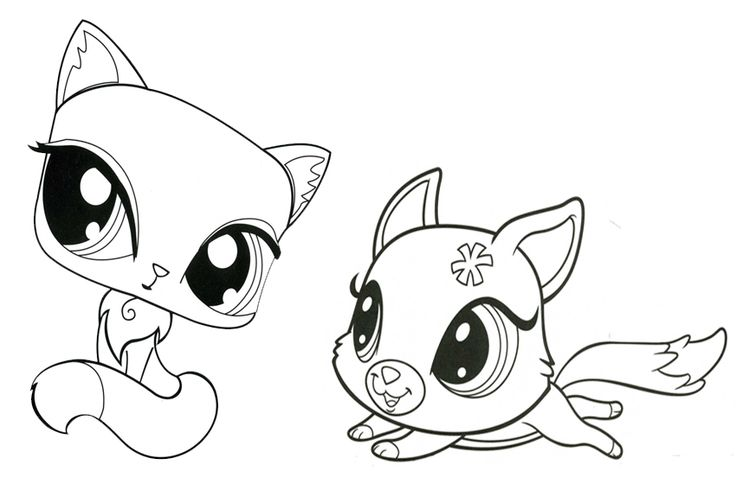 736x490 Fascinating Littlest Pet Shop Coloring Pages With Additional