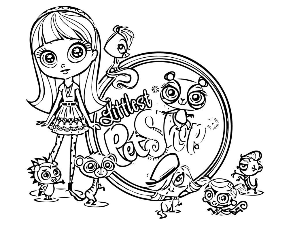 1024x791 Cool Littlest Pet Shop Coloring Pages