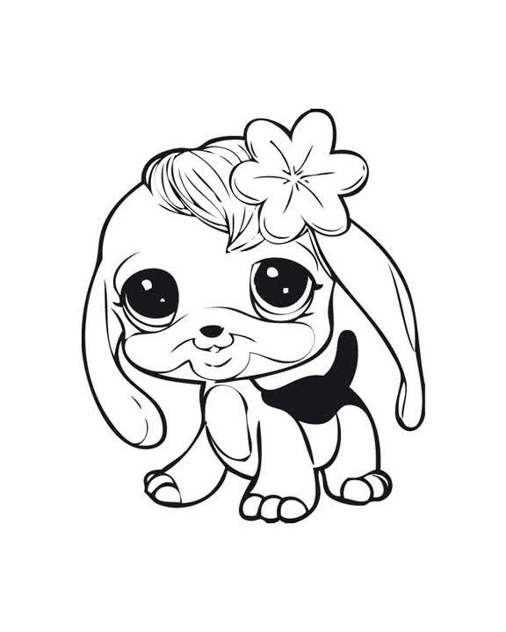 1000x1250 Fabulous Littlest Pet Shop Coloring Pages Free Download Printable