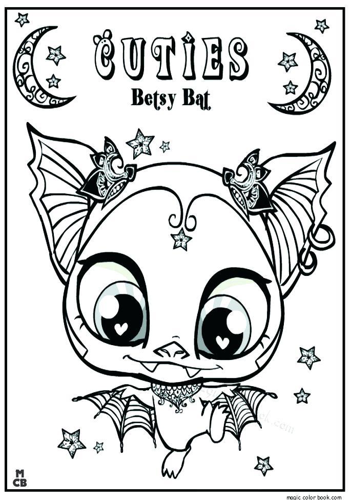 685x975 Littlest Pet Shop Color Pages