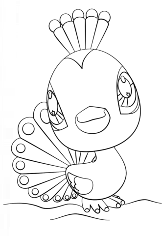 333x480 Free Printable Littlest Pet Shop Coloring Pages