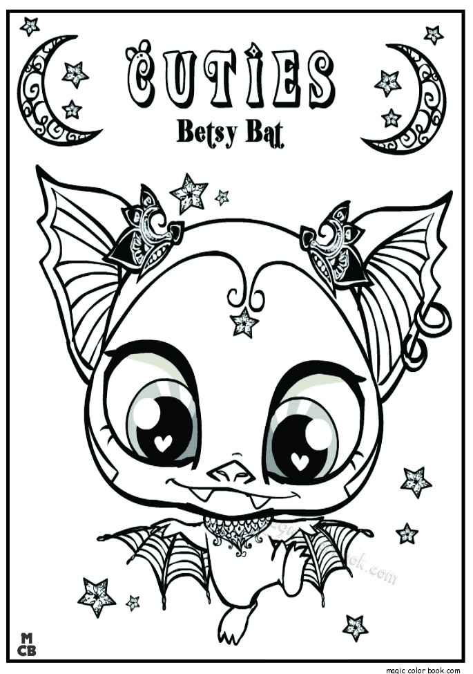 Littlest Pet Shop Cuties Coloring Pages at GetDrawings.com | Free ...