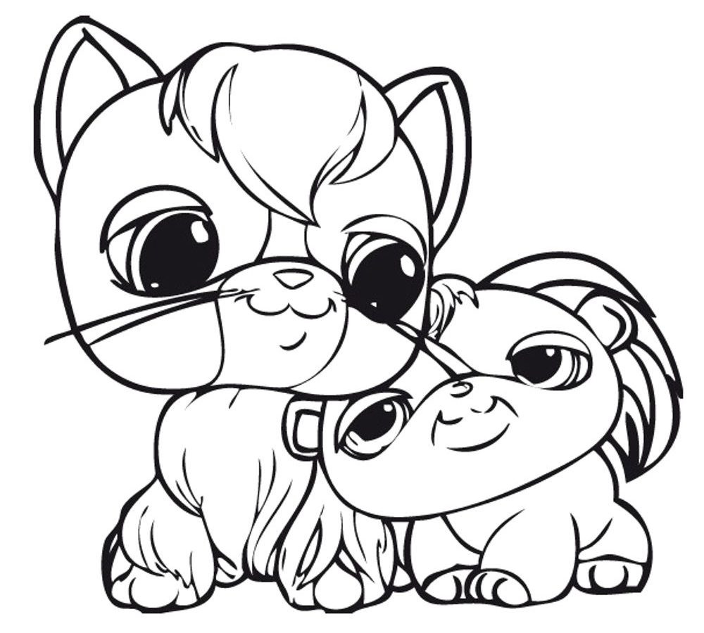 1000x900 Littlest Pet Shop Coloring Pages Zoe Lps Cuties Peacock Bunny