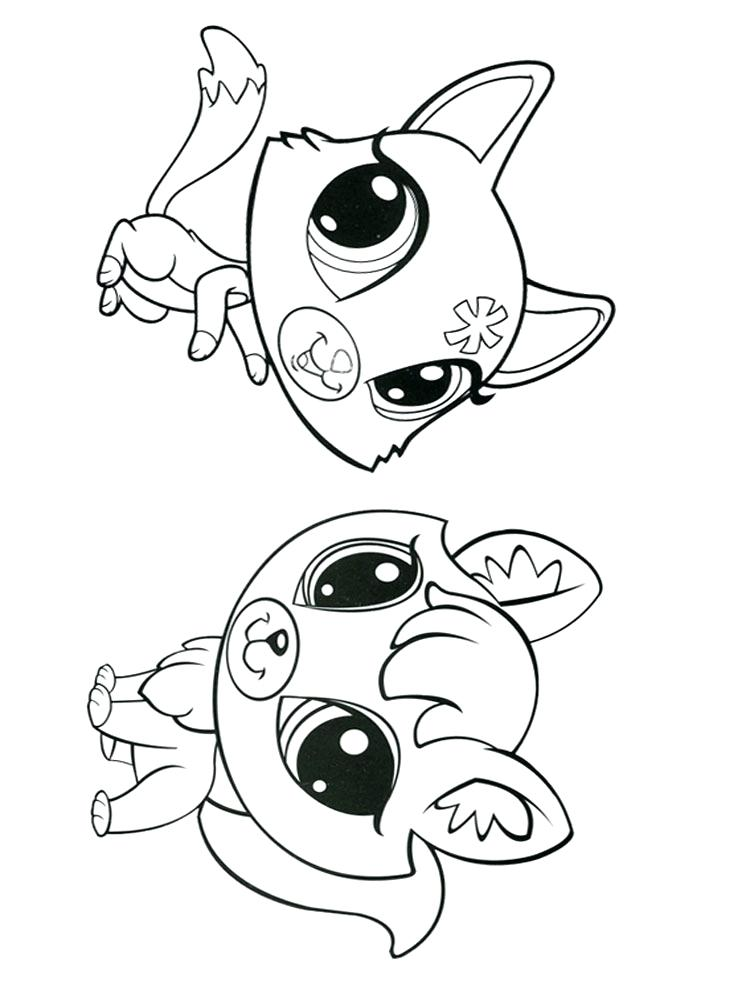 750x1000 Coloring Pages Littlest Pet Shop Of Cuties Coloring Collection