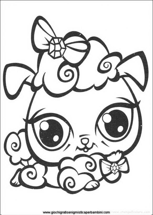 Littlest Pet Shop Dog Coloring Pages