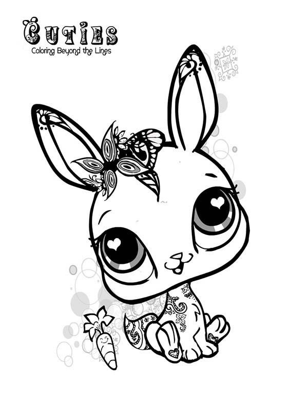 Littlest Pet Shop Dog Coloring Pages At Getdrawings Com Free For