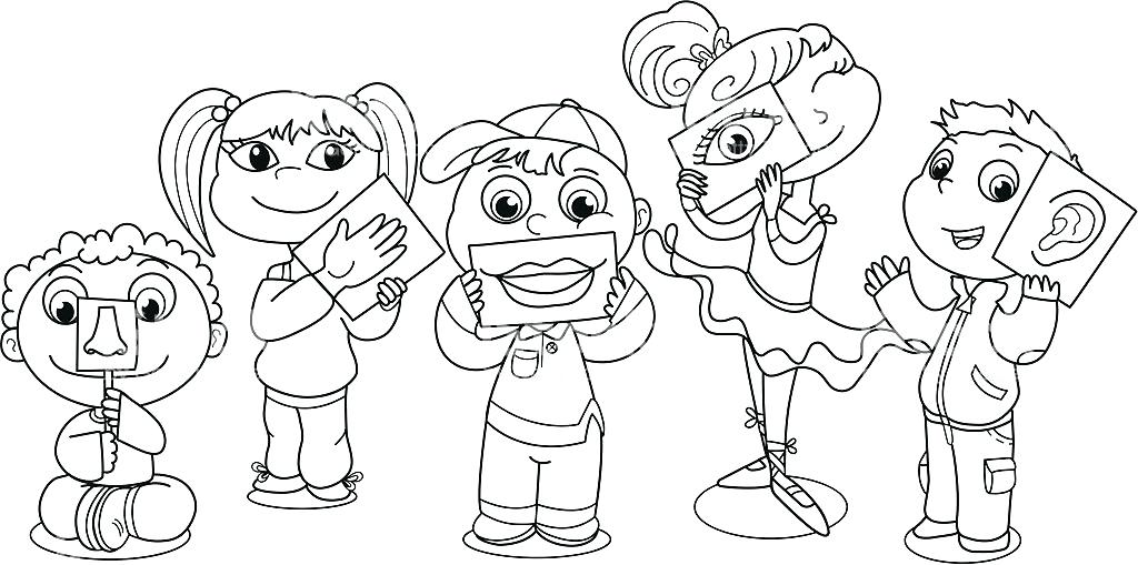 1024x509 Liv Maddie Coloring Pages New Senses Coloring Pages Liv