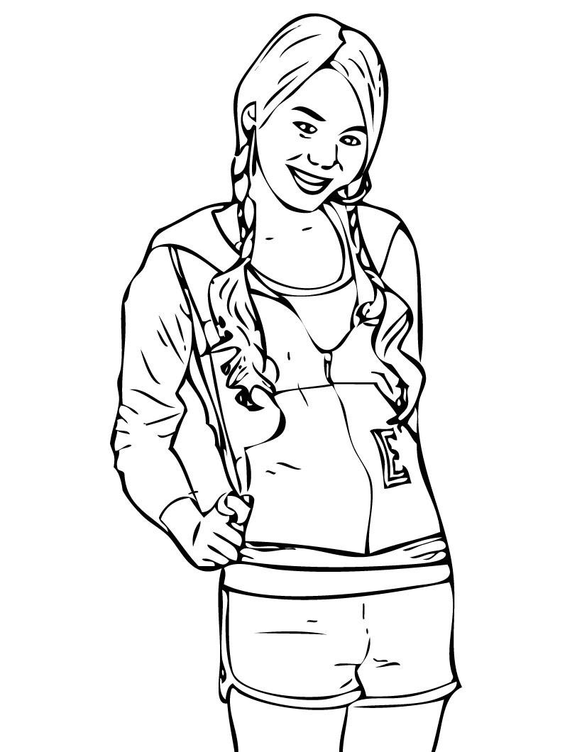 820x1060 Best Of Disney Channel Jessie Coloring Pages To Print Gallery
