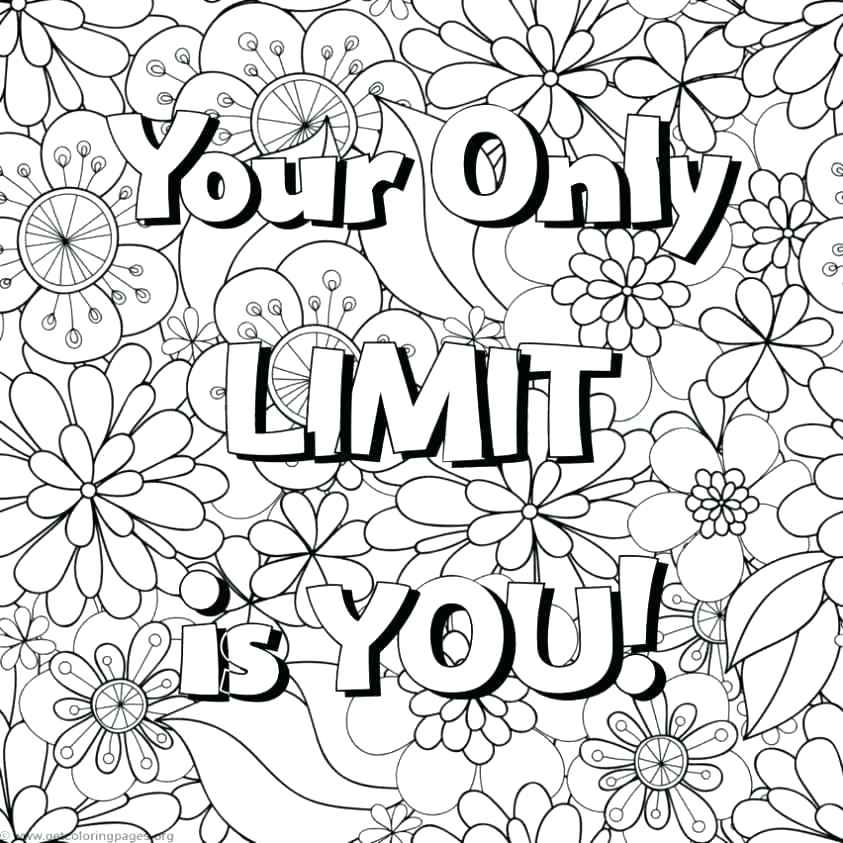 843x843 Inspirational Quotes Coloring Pages Plus Live Laugh Love Coloring
