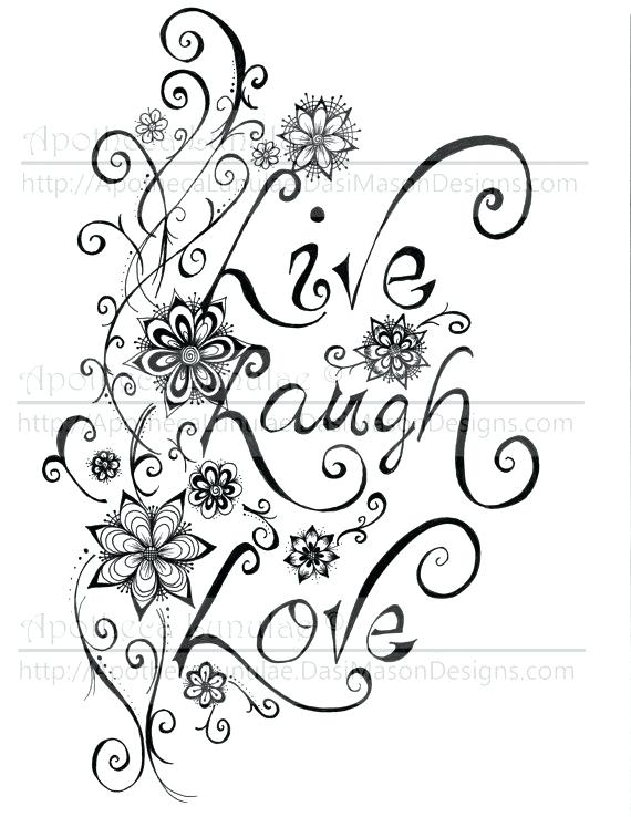 570x738 Live Laugh Love Coloring Pages Live Laugh Love Coloring Pages