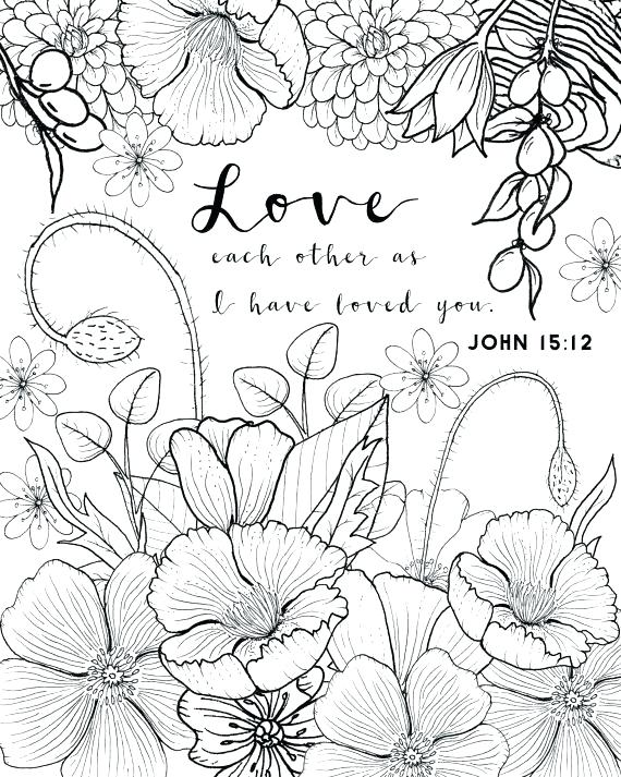 570x713 Love Coloring Pages For Adults Printable Free Printable Heart