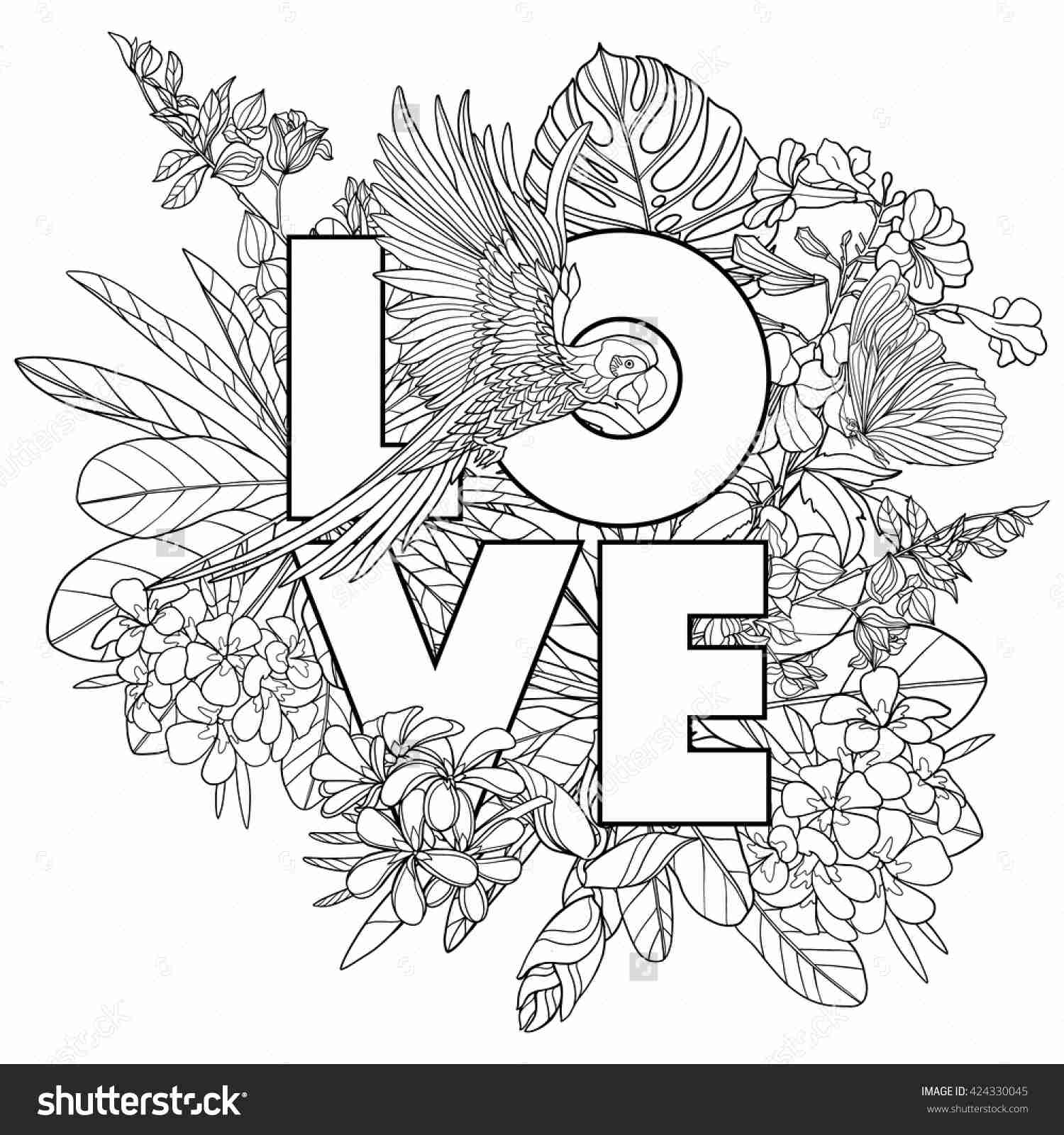 1500x1600 Marvelous Live Laugh Love Coloring Pages With Word Beauteous