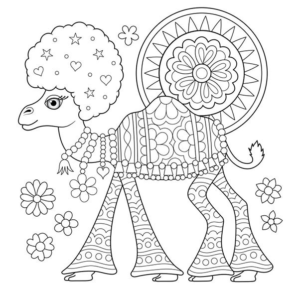 600x582 Free Adult Coloring Pages Detailed Printable Coloring Pages