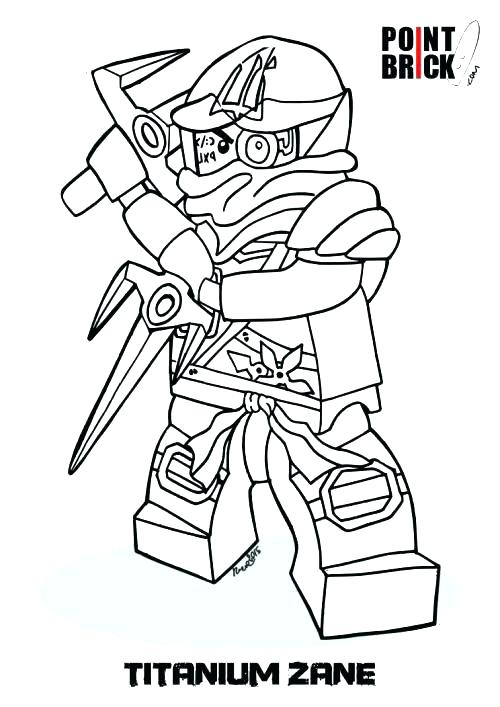 500x707 Ninjago Coloring Pages Ninjago Coloring Pages Lloyd Garmadon