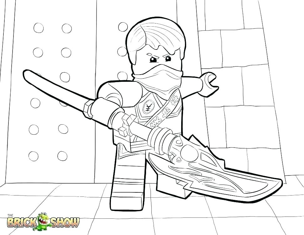 970x750 Ninjago Lloyd Coloring Page Coloring Pages Page Tournament Of Lego