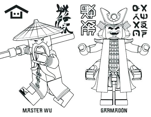 500x389 Ninjago Lloyd Coloring Pages Coloring Book Coloring Es Printable