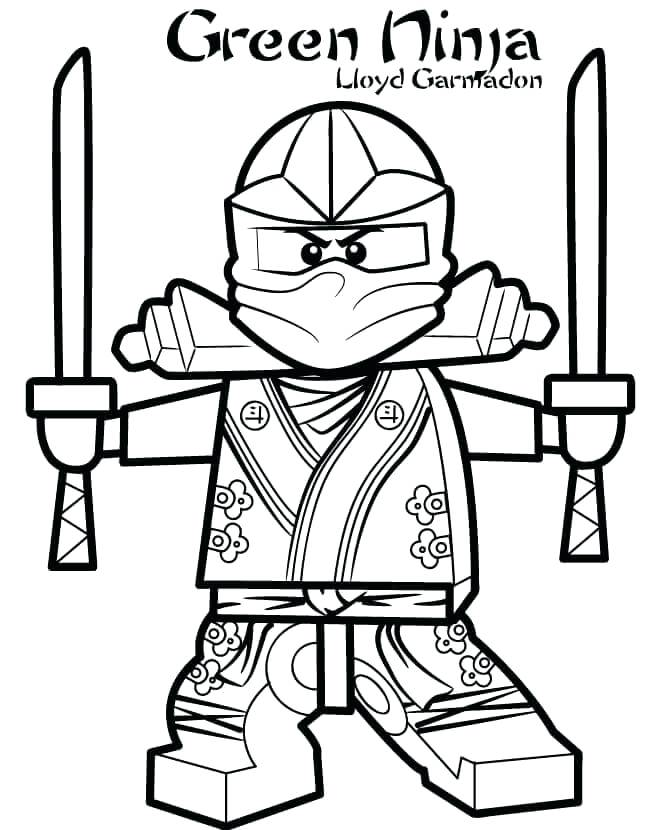 647x830 Beautiful Ninjago Lloyd Coloring Pages And Green Ninja Coloring
