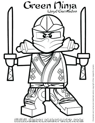 370x480 Ninjago Lloyd Coloring Pages