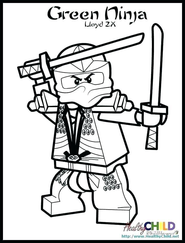ausmalbilder ninjago lloyd garmadon  malvorlagen