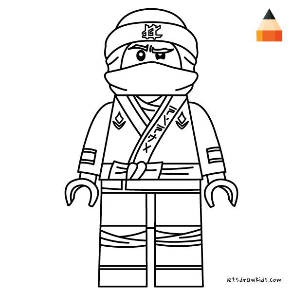600x600 How To Draw Lego Lloyd