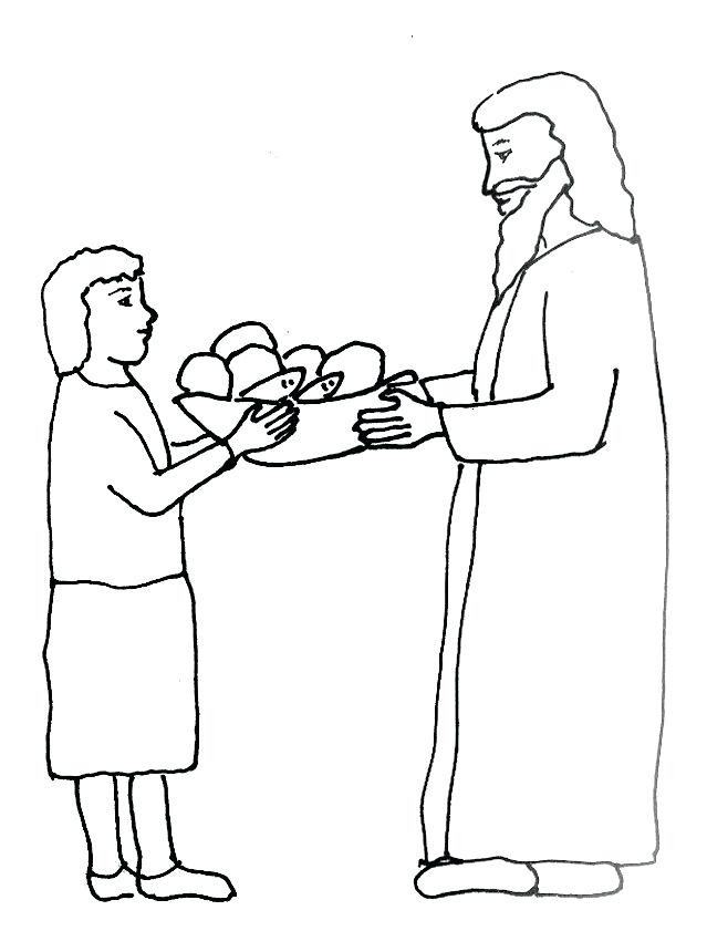 639x841 Jesus Feeds Coloring Page Lovely Loaves And Fishes Coloring