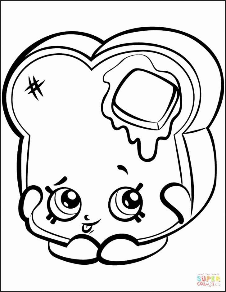 728x942 Loaf Of Bread Coloring Page