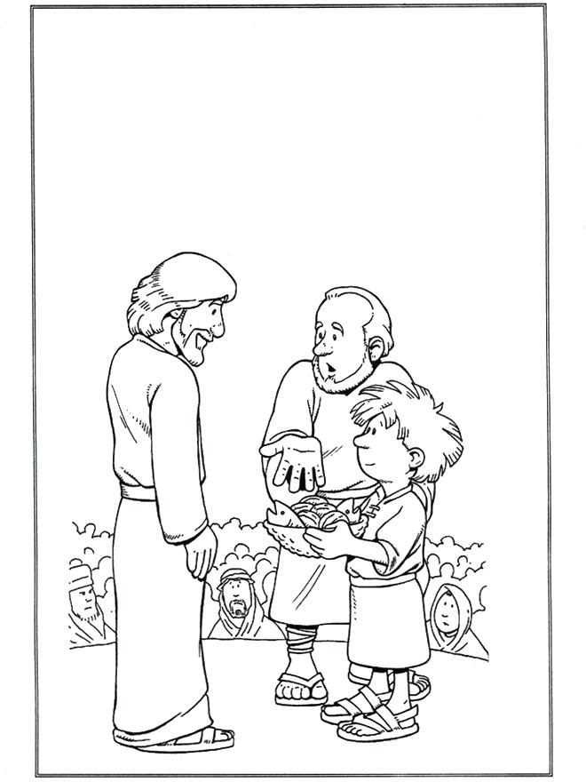 660x880 Loaves And Fishes Coloring Page Loaves And Fishes Bible Coloring