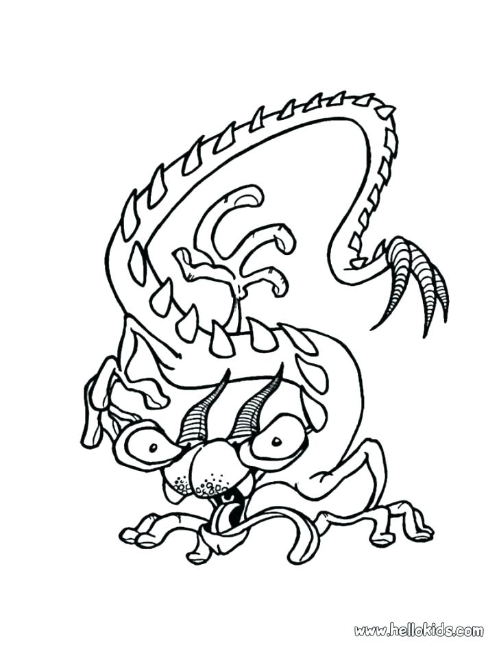 728x941 Loch Ness Monster Coloring Pages Monster Coloring Pages Monsters