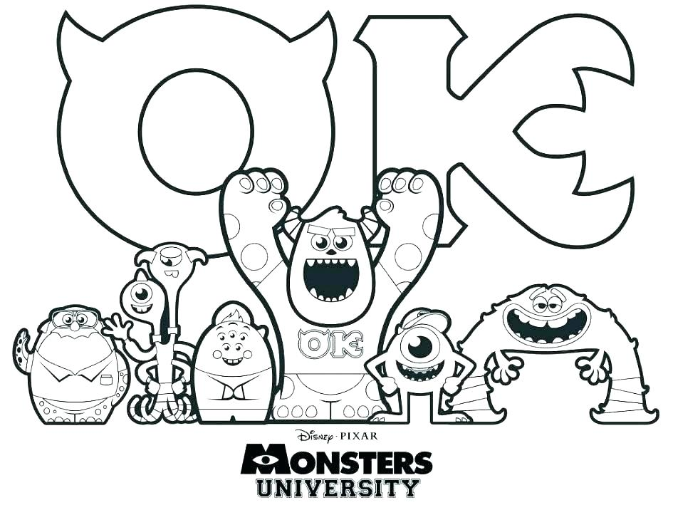 945x709 Loch Ness Monster Coloring Pages Monsters Inc Coloring Pages Loch