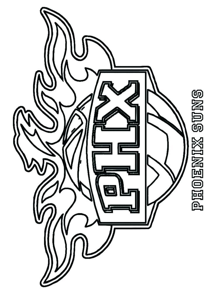 750x1000 Logos Coloring Pages Free Coloring Nba Team Logo Coloring Sheets