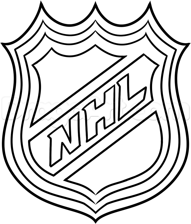 810x952 Nhl Team Logos Coloring Pages