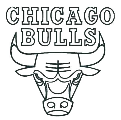 510x506 Chicago Bulls Coloring Pages Superhero Logo Coloring Pages Logo