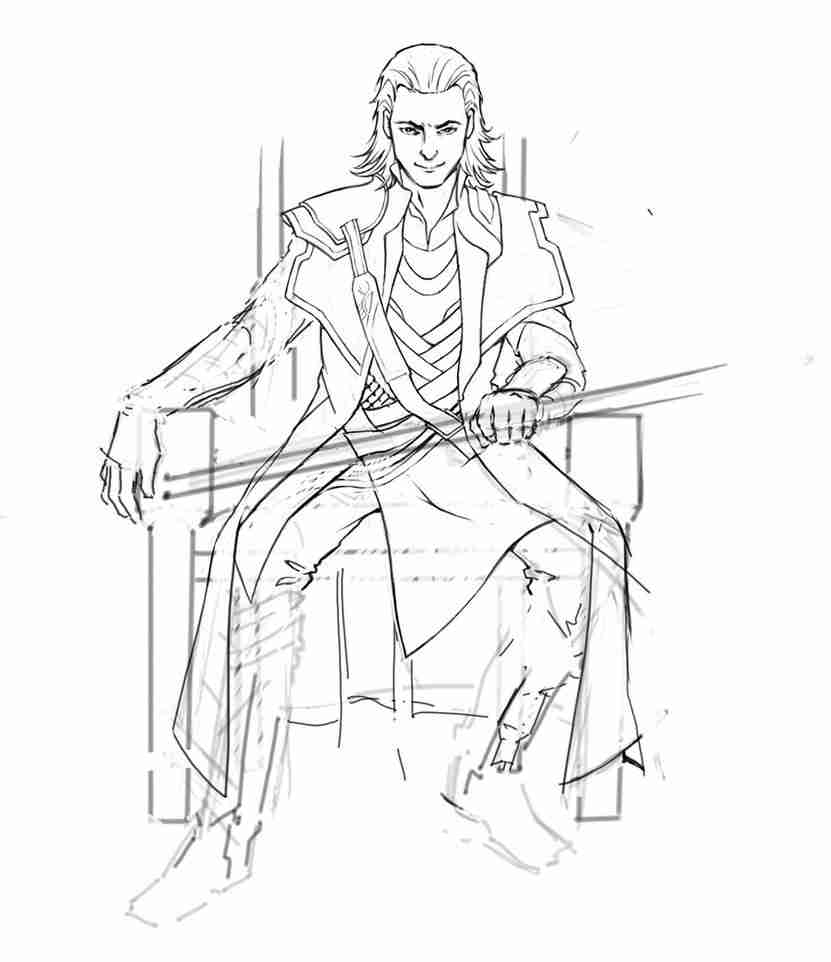 831x962 Loki Coloring Pages Coloring Pages Amazing Olegratiy