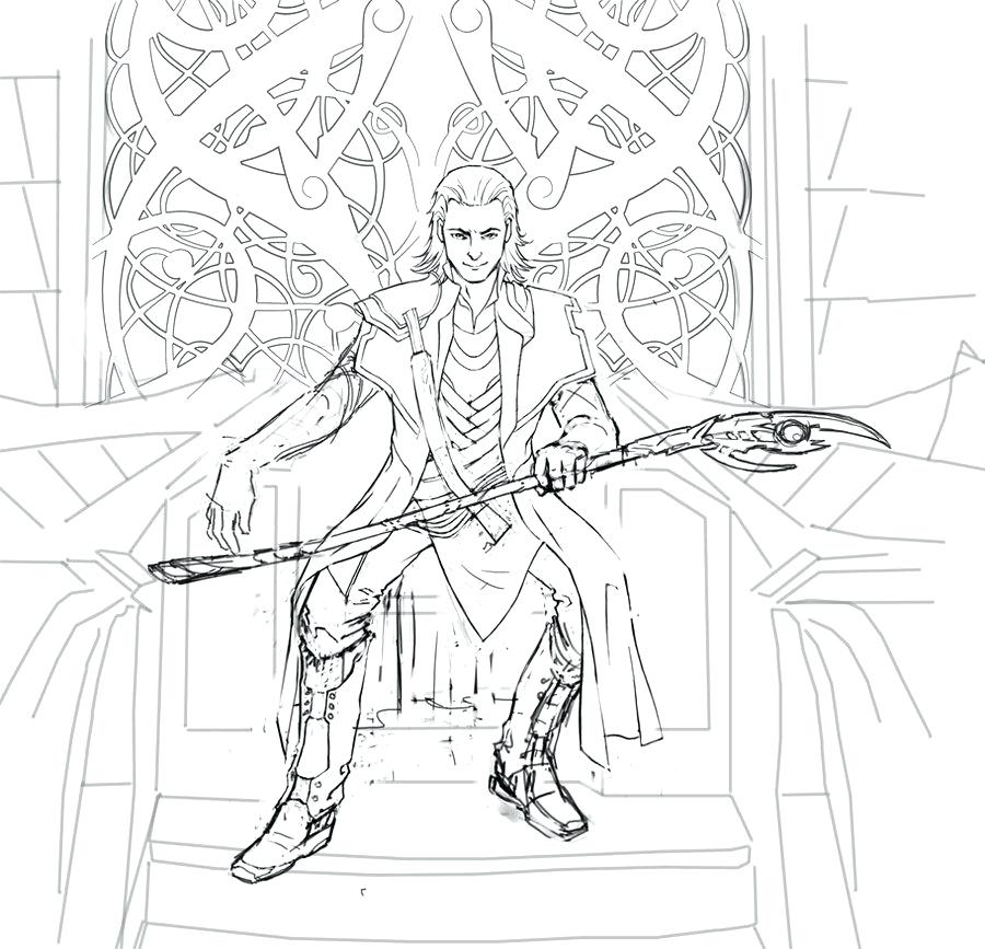 900x867 Loki Coloring Pages Coloring Page Thor And Loki Colouring Pages
