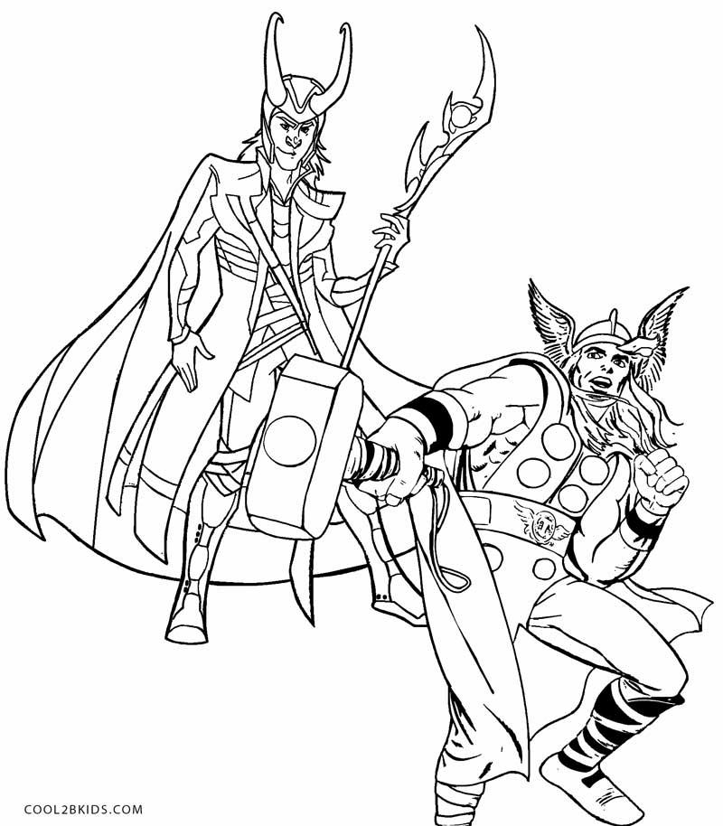 800x914 Printable Thor Coloring Pages For Kids Loki Coloring
