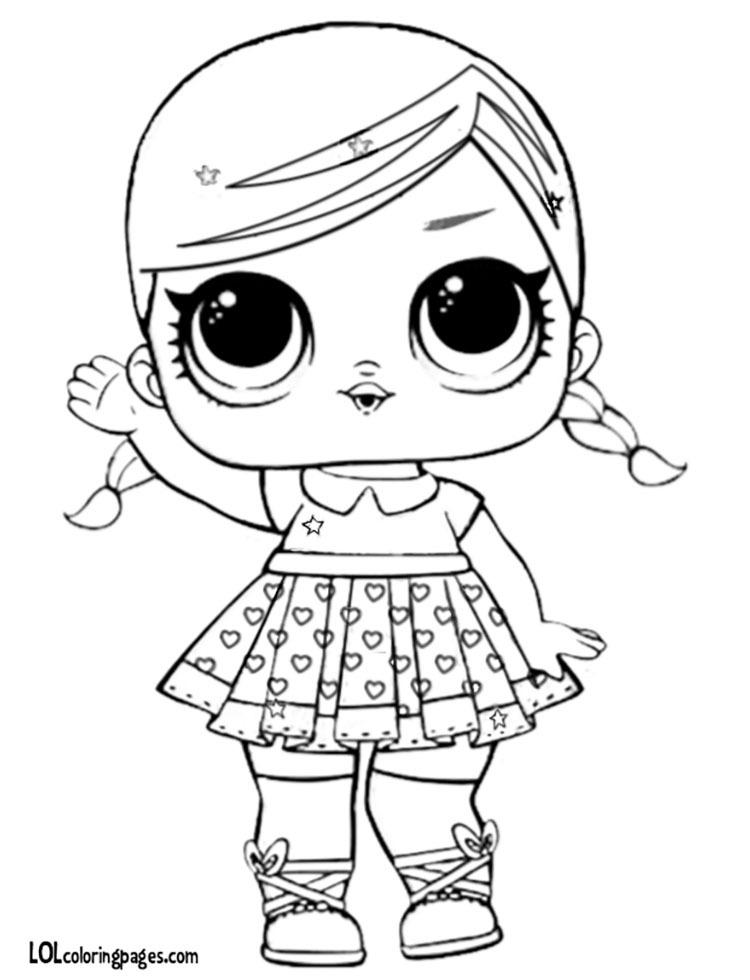 750x980 Glitter Super Bb Coloring Page Lol Surprise Doll, Lol Dolls