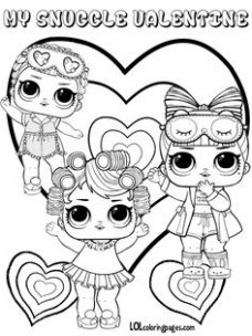 228x304 Lol Surprise Doll Coloring Pages Page Color Your Just