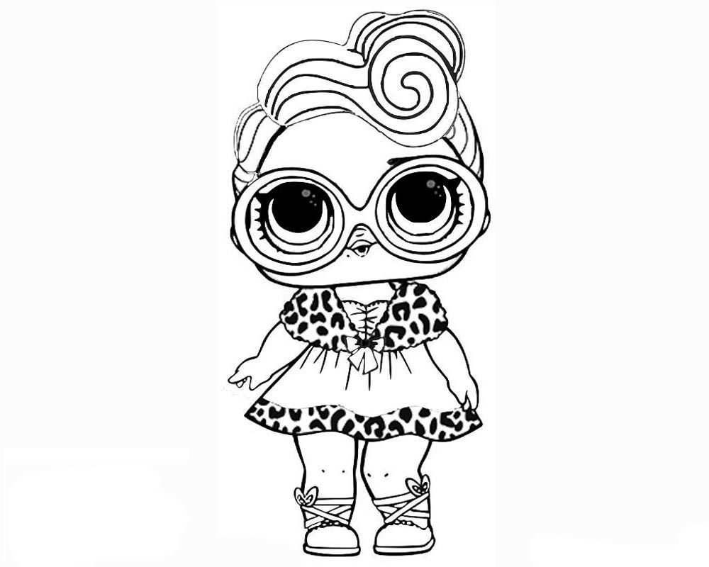 1000x800 Lol Surprise Coloring Pages To Download And Print For Free