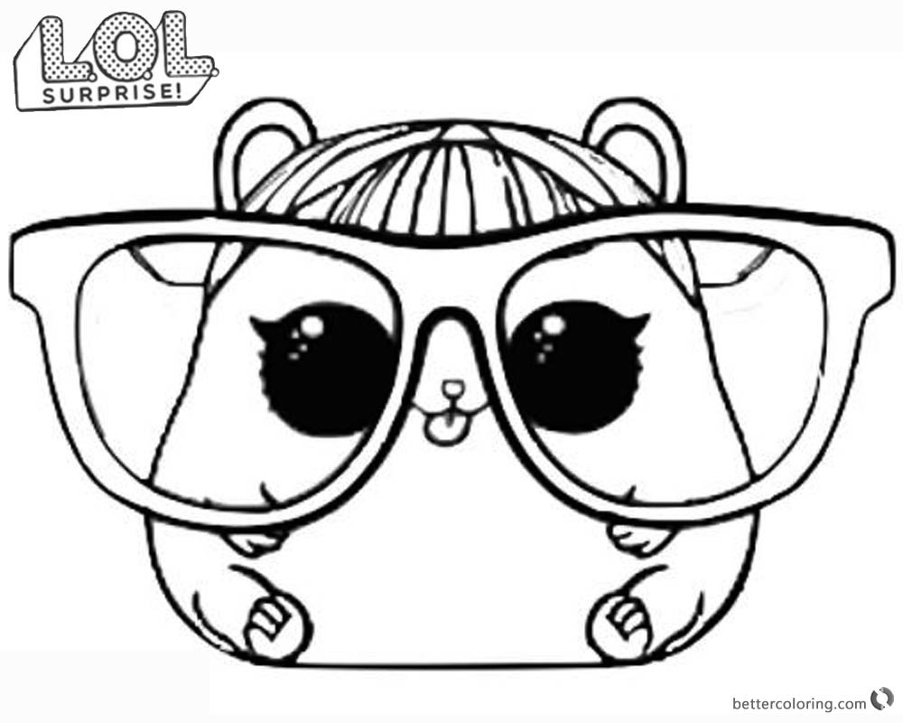 1000x800 Lol Doll Coloring Pages Zuckett