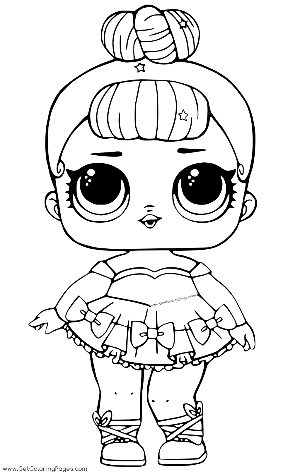 Lol Doll Coloring Pages At Getdrawings Com Free For Personal Use
