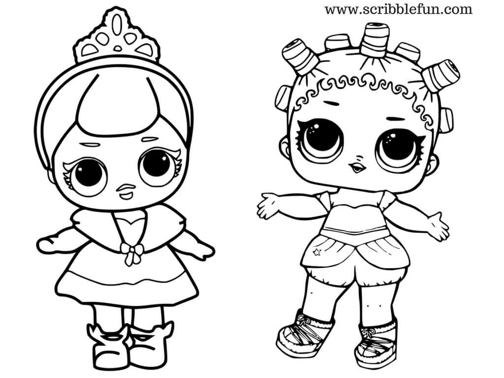 1024x768 Free Printable Lol Surprise Dolls Coloring Pages