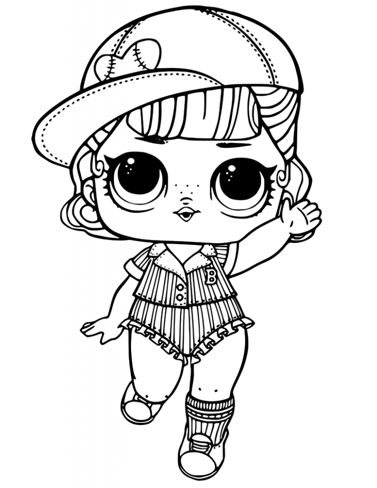 picture relating to Lol Doll Coloring Pages Printable referred to as Lol Dolls Coloring Internet pages at  Totally free for
