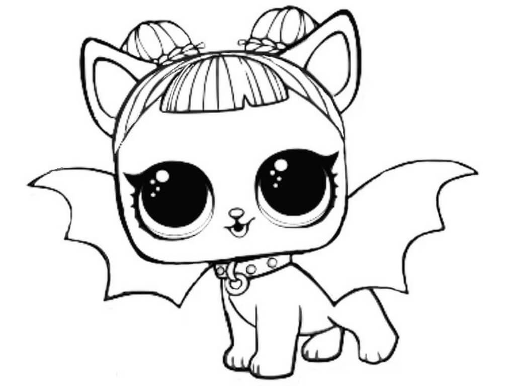 Lol Dolls Coloring Pages at GetDrawings