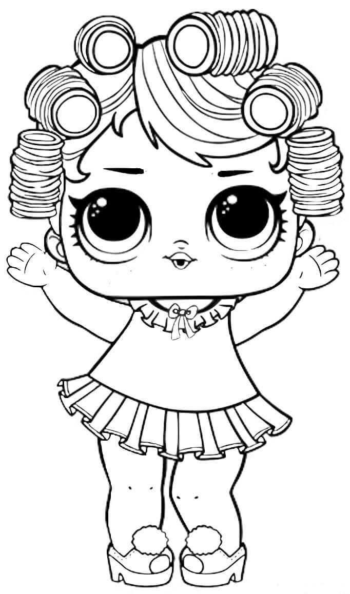Lol Dolls Printable Coloring Pages At Getdrawings Free Download